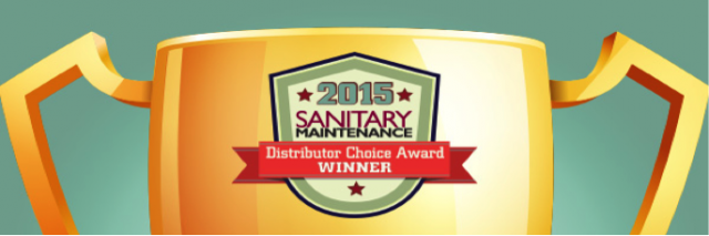 Sanitary Maintenance Award Winner 2015
